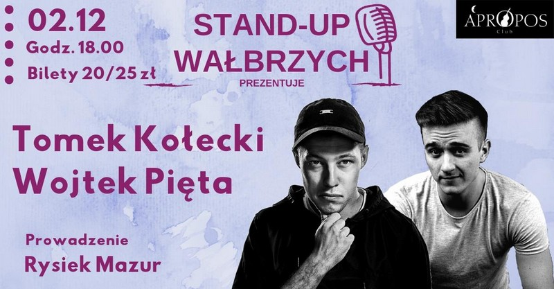 Wygraj wejściówkę na stand-up Kołeckiego i Pięty
