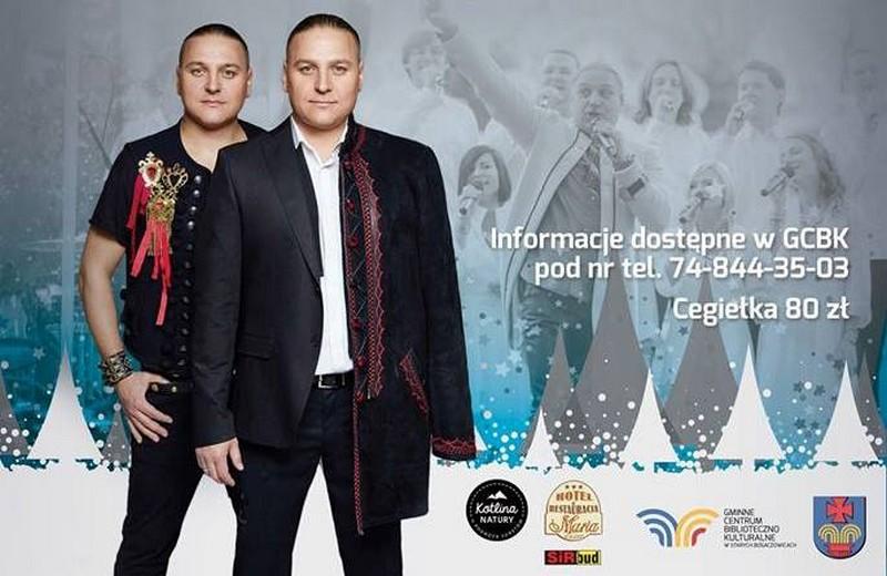 Wyjątkowi bliźniacy zagrają świąteczny koncert