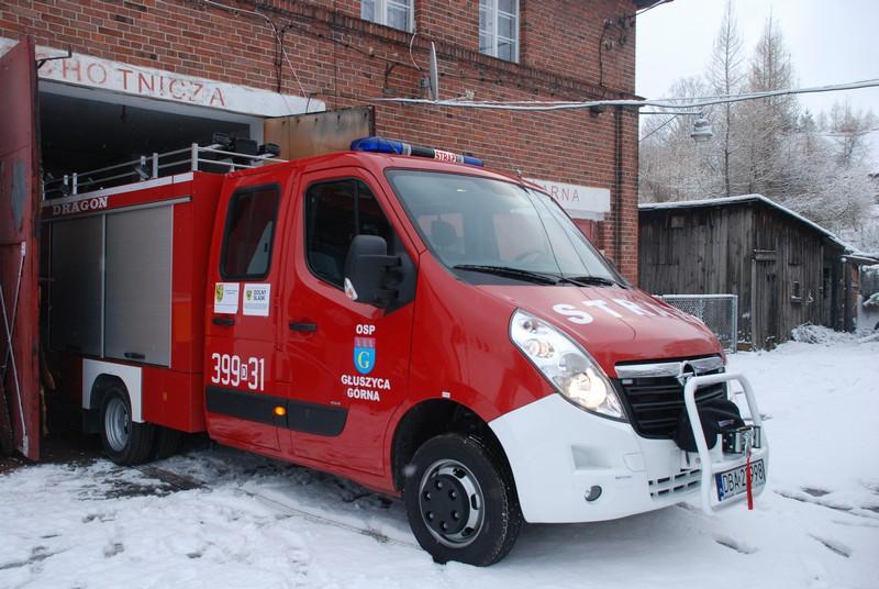 Najnowszy wóz dla ochotników