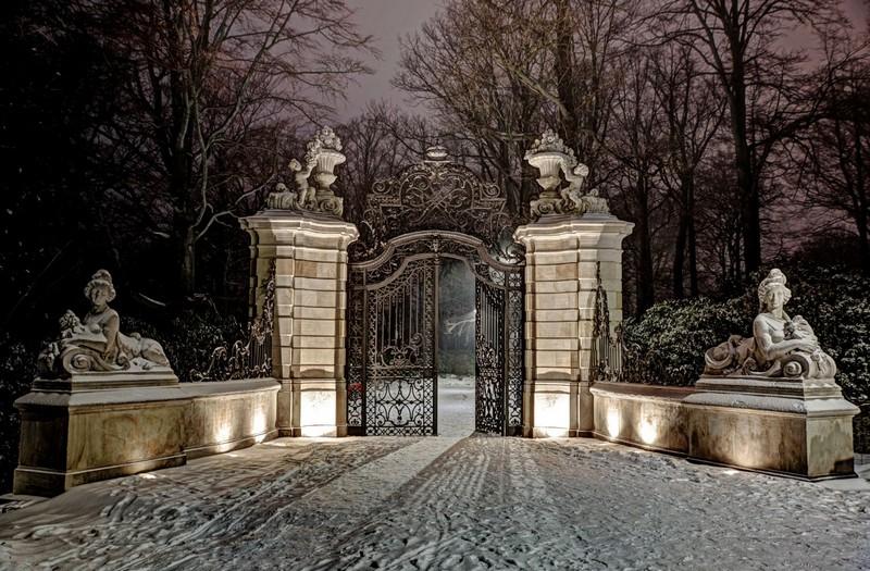 Parkowe wrota do Książa w nowym świetle