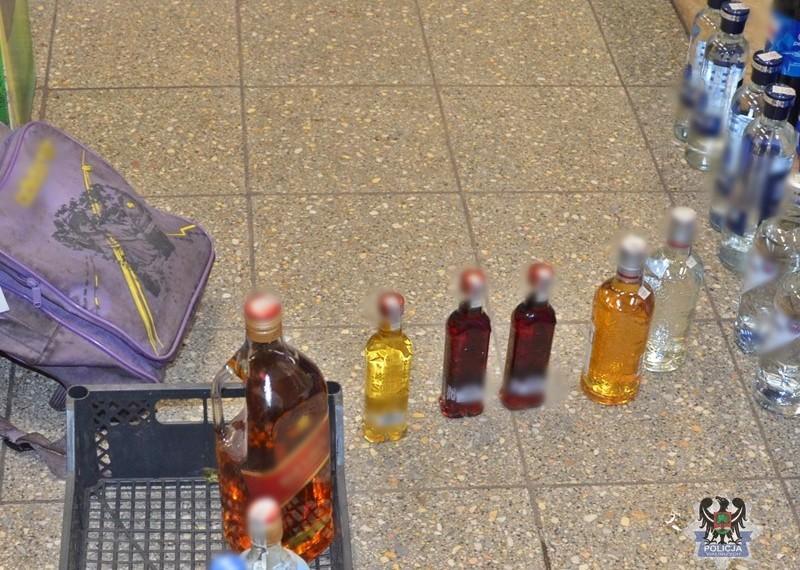 Sklepowy włamywacz miał… 6 prom. alkoholu