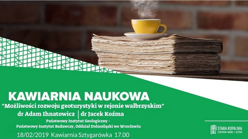O geoturystyce w kawiarni