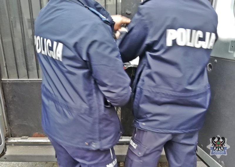 Sprawcy pobicia w rękach stróżów prawa