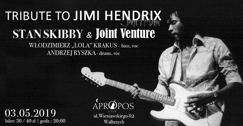 Zdobądź bilet na Tribute To Jimi Hendrix