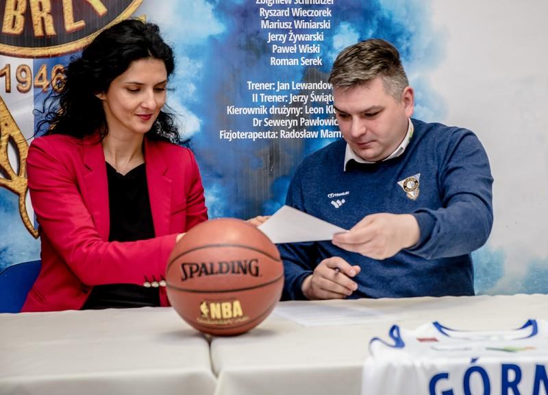 Książ nowym sponsorem koszykarzy Górnika