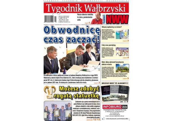 Najnowszy Tygodnik Wałbrzyski już w kioskach