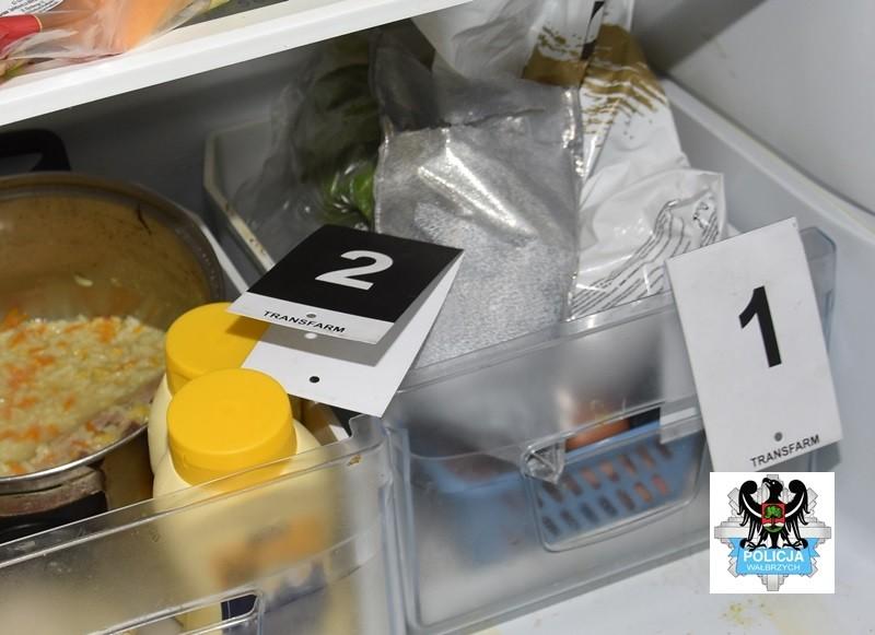W lodówce ukryli 8000 porcji amfetaminy