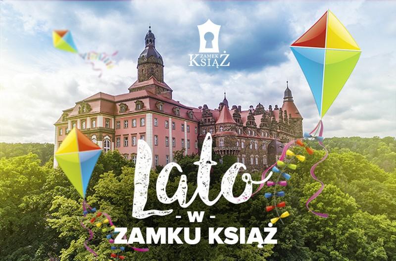 Lato w Zamku Książ i Palmiarni
