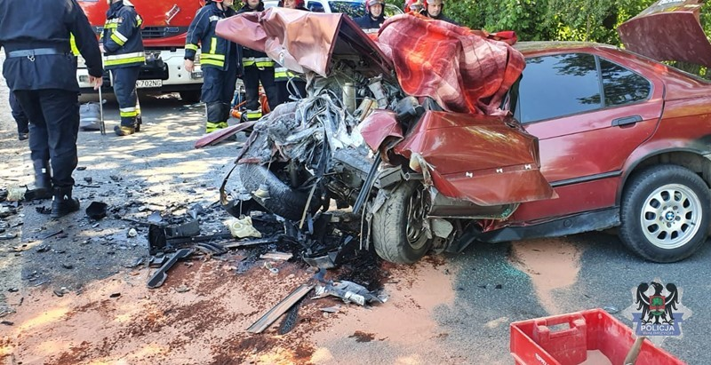 Tragiczny wpadek w Nowym Julianowie