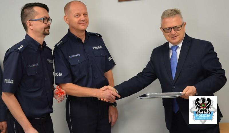 Nowy posterunek policji w Szczawnie
