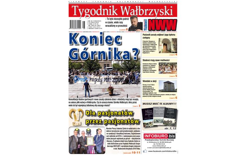 Nowy numer Tygodnika Wałbrzyskiego już w sprzedaży