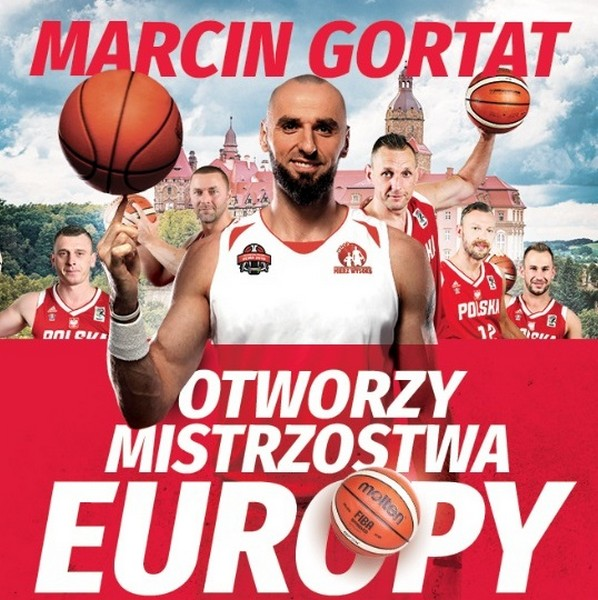 Gortat otworzy mistrzostwa Europy