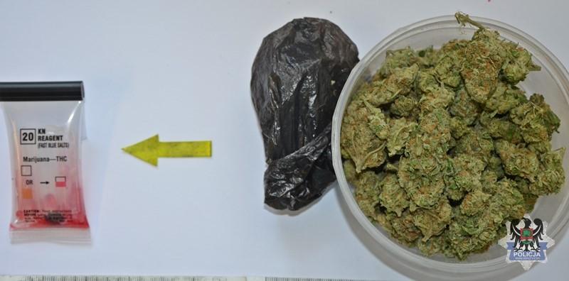 Wpadł diler handlujący marihuaną